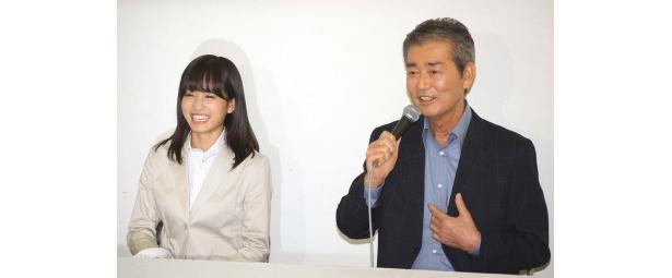 【写真】初共演について語る前田と渡哲也(写真左から)