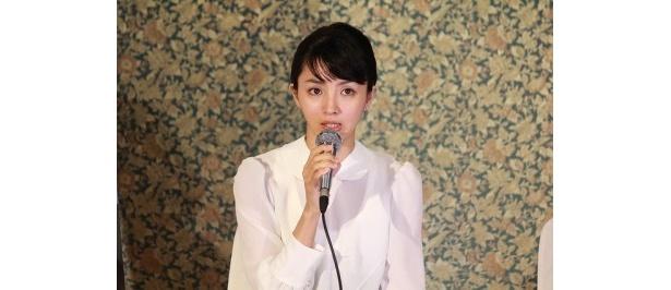 「吉永さんが出ているから出演を決めた」と語る満島