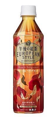 こちらは6月に発売された「キリン 午後の紅茶 ヨーロピアンスタイル ローズ&ベルガモット」