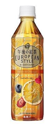 「キリン 午後の紅茶 ヨーロピアンスタイル ベリー&オレンジ」