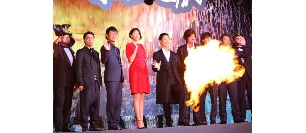 『のぼうの城』のジャパンプレミアが開催