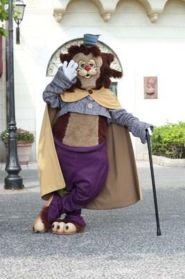 こちらは映画「ピノキオ」に登場するギデオン。ピノキオをだまそうとするキャラクターで、ずる賢いけどちょっとマヌケなところがにくめない