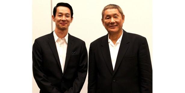 『アウトレイジ ビヨンド』北野武監督と加瀬亮にインタビュー