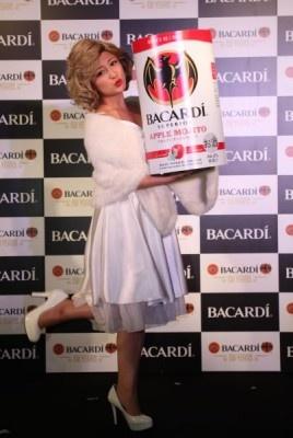 バカルディは名古屋・大阪のクラブイベントでも「1Scream=1Bacardi(叫んでバカルディを飲もう)」というコンセプトのプロモーションを展開