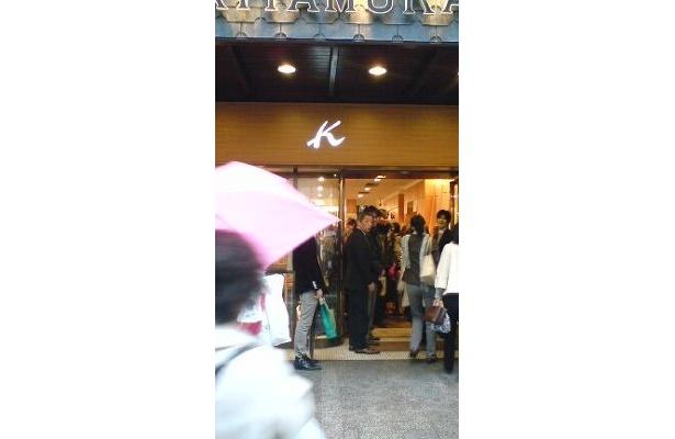 こちらはキタムラ 元町三丁目店です。元町メンズショップはお隣