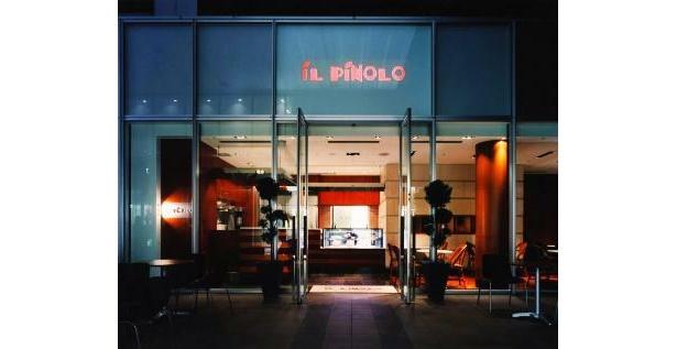 開放的で、女性も入りやすいのが人気の秘訣(イルピノーロ・カフェ)