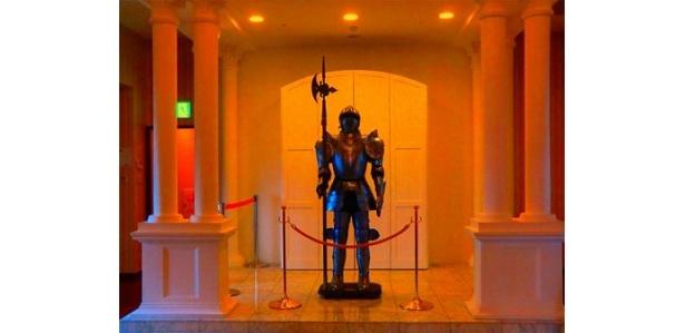 城内には甲冑も展示してある