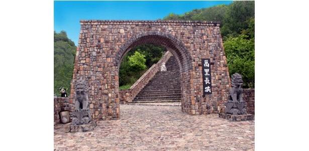 こちらは万里の長城の入り口