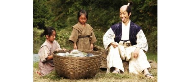 『のぼうの城』でのぼう様こと成田長親を演じる野村萬斎
