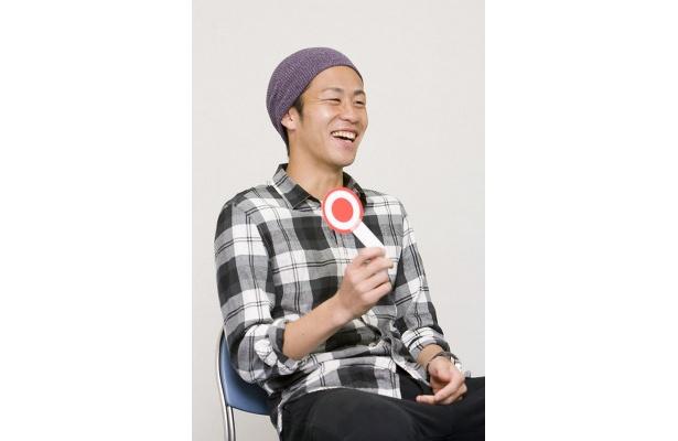にこやかにインタビューに答えてくれた吉田選手。そのサービス精神に取材陣も脱帽!