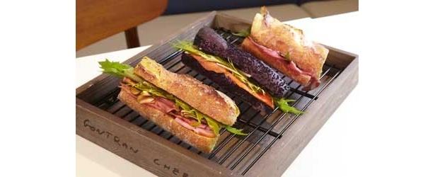 お洒落サンドイッチの主流はバゲット!(ゴントラン シェリエ 東京)