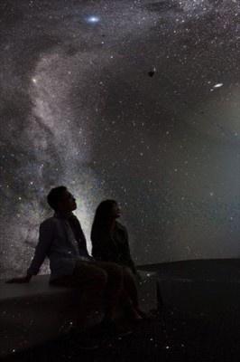 「スター・クルーズ・プラネタリウム」内の「MEGASTAR(メガスター)-荘厳なる星空-」
