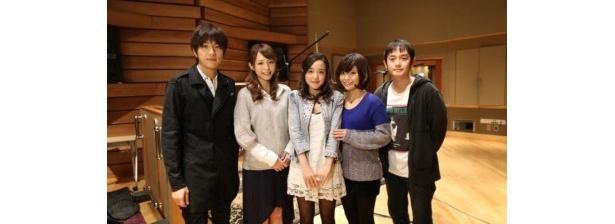 潘めぐみ、伊瀬茉莉也、平野綾によるユニットに楽曲「流れ星☆キラリ」を提供したゆず