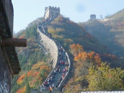 中国は登録数3位!写真は万里の長城