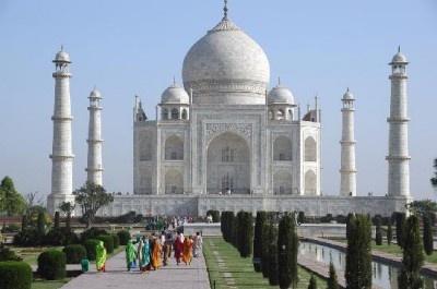 登録数7位のインド。写真はタージ・マハル