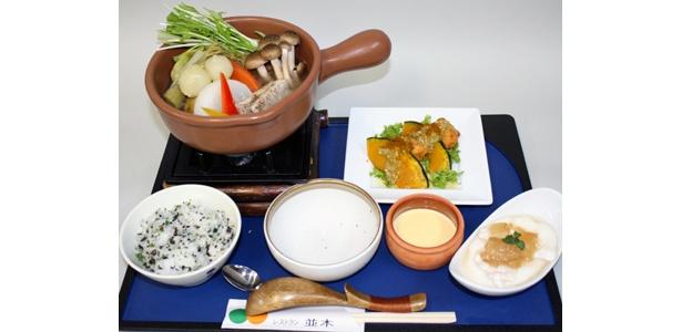 赤城高原SA(上り)「のりちゃんの(こだわり満采)野菜ポトフ」(1200円)