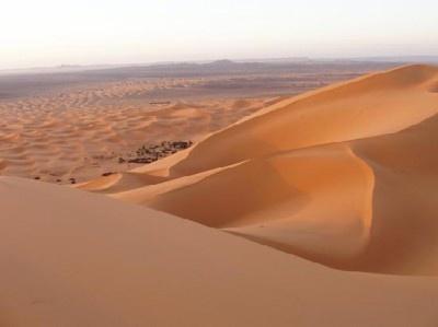アフリカ大陸の3分の1を占める「サハラ砂漠」
