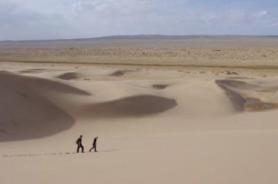 モンゴルの「ゴビ砂漠」