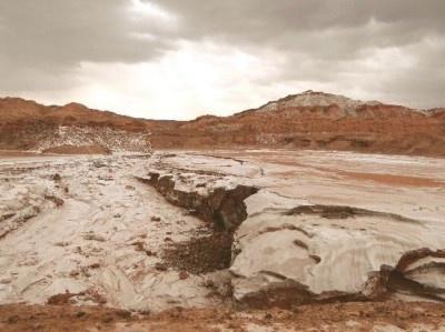 チリの「アタカマ砂漠」