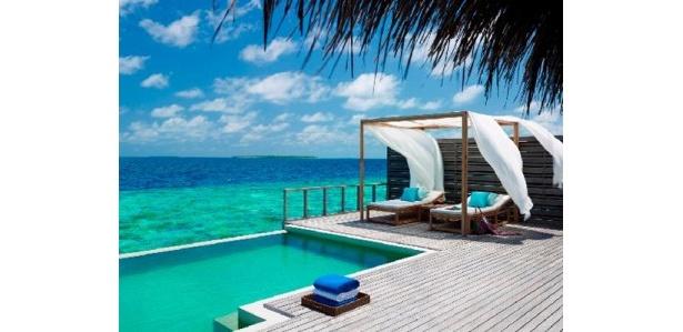 アジアの1位!モルディブのバア環礁に位置し、100室すべての客室が一棟独立型のヴィラに