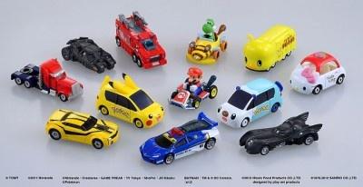 「Dream TOMICA(ドリームトミカ)」シリーズ第1、2弾として発売される12車種