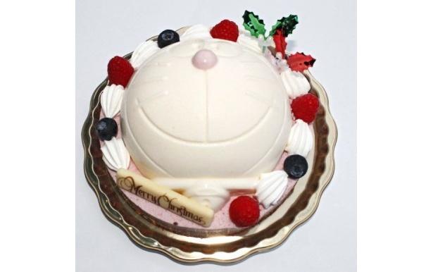 「ドラえもんアイスケーキ クリスマススノーボール」のサイド