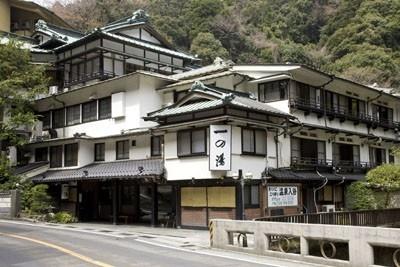 「塔ノ沢 一の湯本館」建物は、国の有形文化財に指定