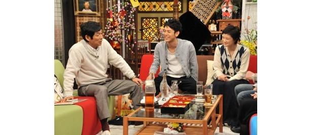 妻夫木聡、蒼井優がラブシーンの演じ方を語る