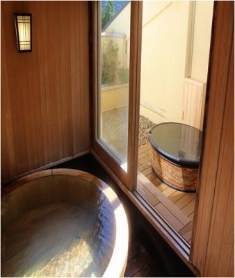 箱根小涌園ユネッサン森の湯 貸切風呂