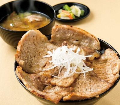 ホエー豚丼(花畑牧場ホエー豚亭)