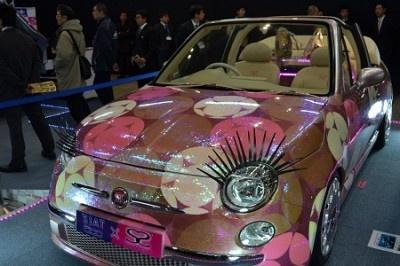 こちらは埼玉自動車大学校の学生によってチューニングされた車両