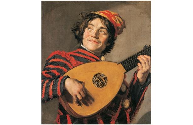 フランス・ハルス「リュートを持つ道化師」1624年頃 (C)RMN / (C)Franck Raux / distributed by DNPartcom