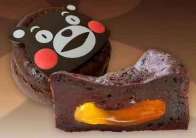 「きなこーや」(熊本県)の「匠のショコラ」断面図