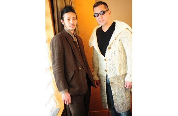 主人公キリン役にオダギリジョー、キリンの育ての父親ユダ役にアンソニー・ウォン