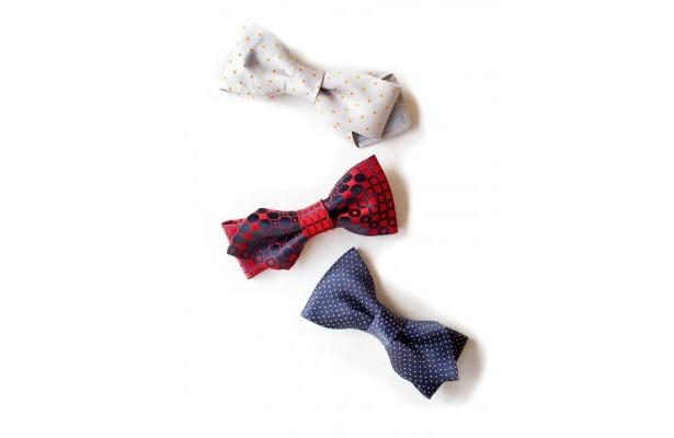 針と糸を使わず簡単に、ヴィンテージネクタイから色々な小物ができる!