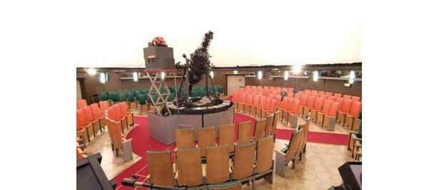 大平貴之さん製作のメガスターは「川崎市青少年科学館」で