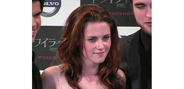 ヴァンパイアのエドワードに恋する女の子・ベラを演じたクリステン・スチュワート