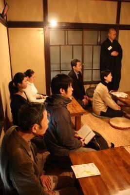 禅僧の普段の食生活の話は、聴講客も興味シンシン