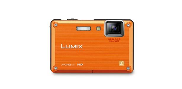 「LUMIX DMC-FT1」のサンライズオレンジ