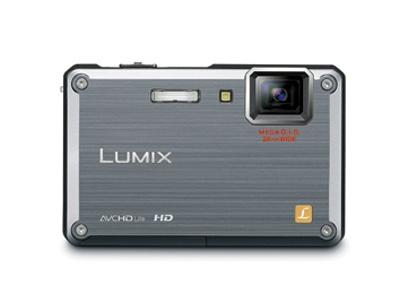 「LUMIX DMC-FT1」のソリッドシルバー