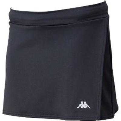 「Kappa ランニングスカート」クールなブラック