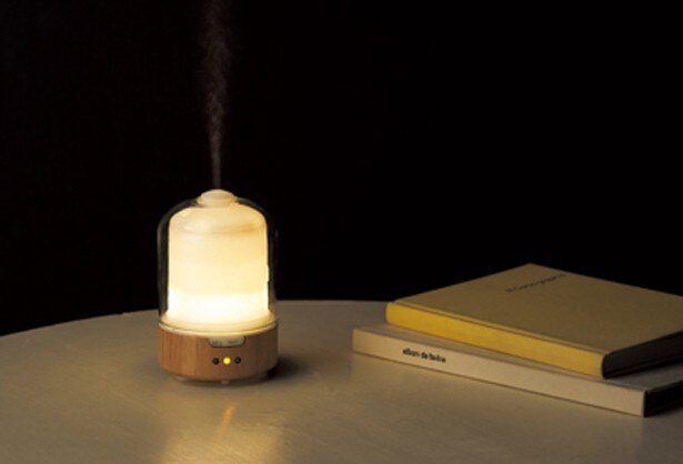 揺らぎの光が魅力的な空間を演出してくれる