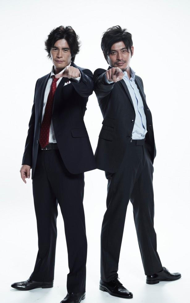 『ダブルス』立っている伊藤英明と坂口憲二