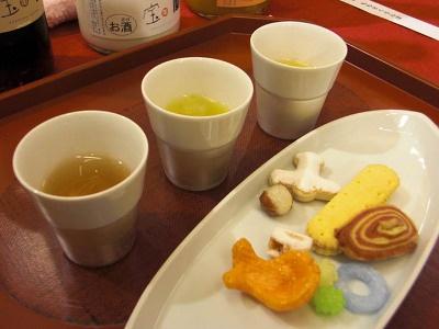 梅酒マイスターセット(お菓子つき)