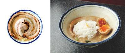 【写真を見る】麺を楽しんだ後は、ご飯を入れて味わうこともできるぞ