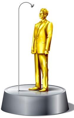 15万着を記念して、金の松岡修造をプレゼント中