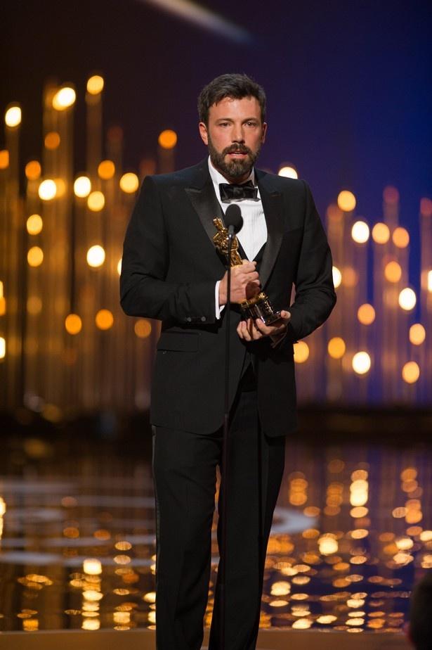 『アルゴ』で作品賞を含め3冠を受賞したベン・アフレック