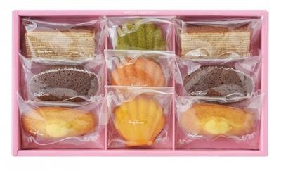 【写真を見る】人気の焼菓子を贅沢に揃えた「スプリングセレクション」