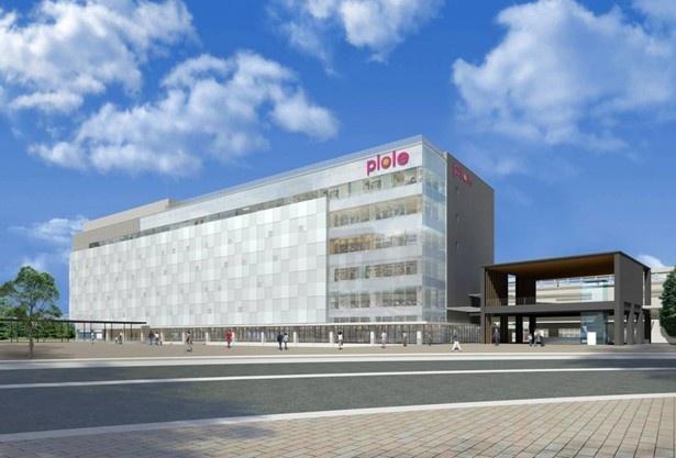 姫路城をモチーフにデザインされたファッションビル「ピオレ姫路」が4/30(火)開業!
