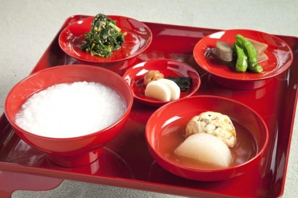 ミシュランも認めた精進料理「阿じろ(あじろ)」の朝粥膳(イメージ)